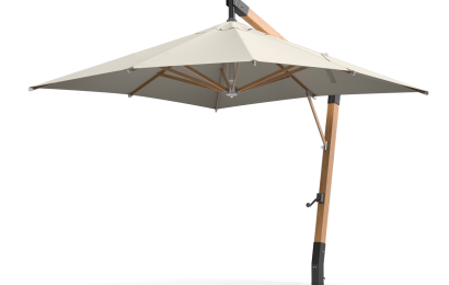 Side pole parasol Scandipro Ultra SA 3x3m/3x4m